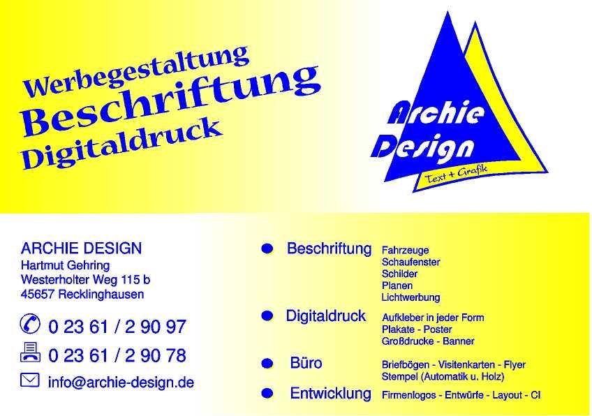 Archie Design